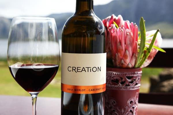 Creation en vingård i Sydafrika