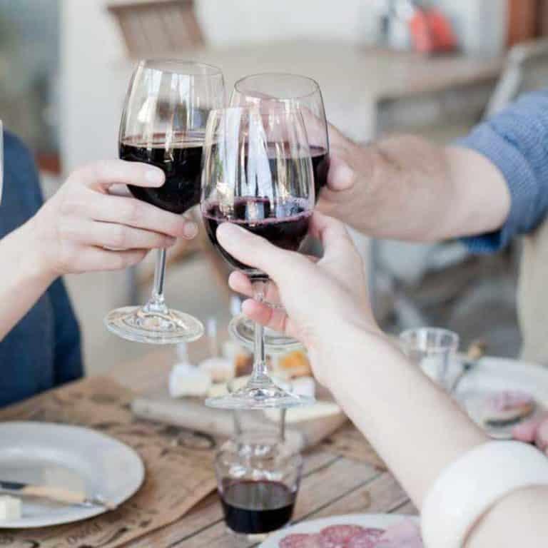Ultimat matresa med vin i Franschhoek