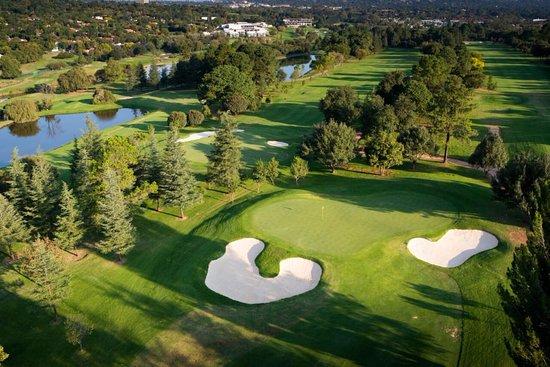 Golfbana i Johannesburg