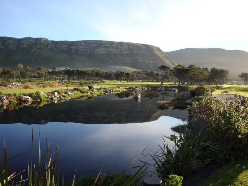 Hermanus golf course, South Africa
